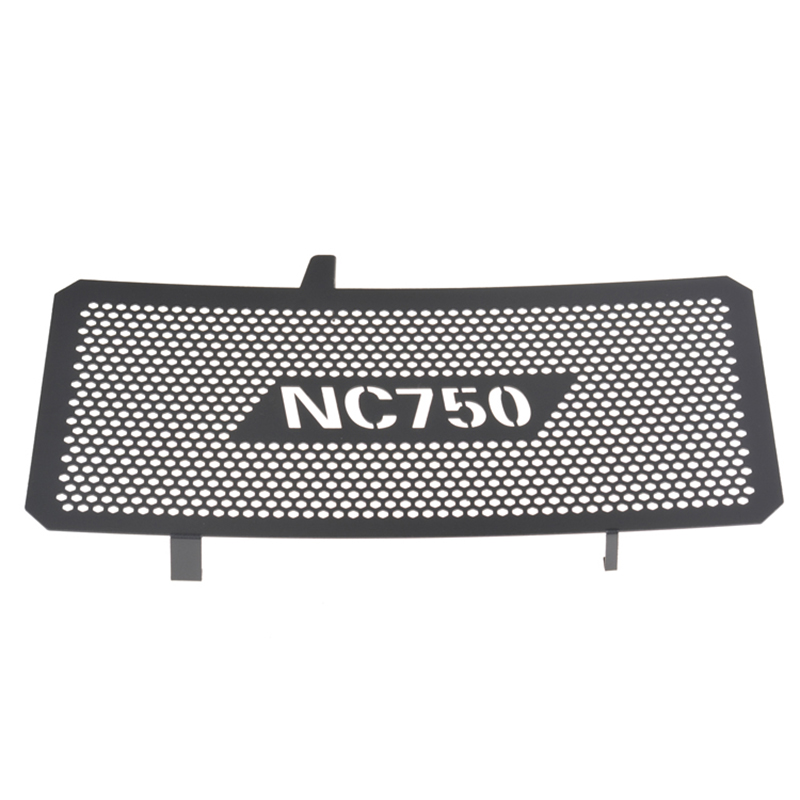 Black Motorcycle Accessories Radiator Guard Grille Grill Cover For Honda NC750X