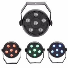 9W 3 In 1 RGB LED Par Light moving head DJ Disco Light Dance Party KTV Lights DMX Controller Stage Lamp (EU Plug 110V-240V)(China)