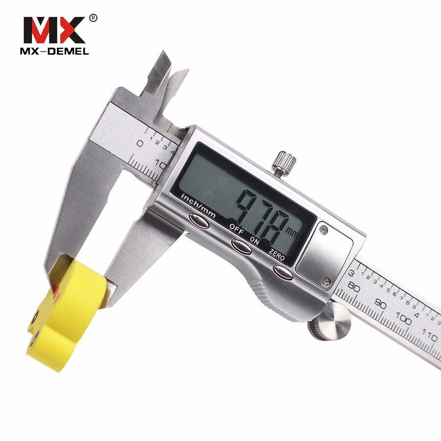 MX-DEMEL 0-100/150/200/300mm Elettronico Digitale Vernier Caliper Display Pinza In Acciaio Inox di Misura strumento Righello