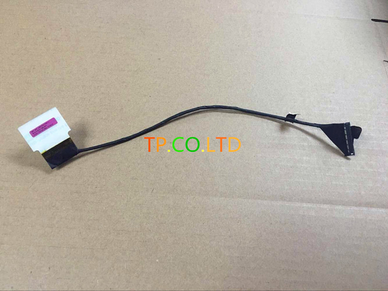 Genuine and original 50.4LO10.001 VGA CABLES FOR LENOVO Thinkpad T540 T540P W540 LCD LVDS CABLE 3K 2880*1620 FHD neworig keyboard bezel palmrest cover lenovo thinkpad t540p w54 touchpad without fingerprint 04x5544