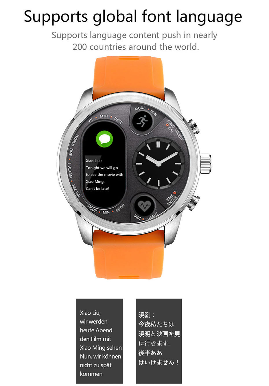 COLMI T3 Sport Hybrid Smart watch Stainless Steel Fitness Activity Tracking IP68 Waterproof Standby 15 Days BRIM Smartwatch 91