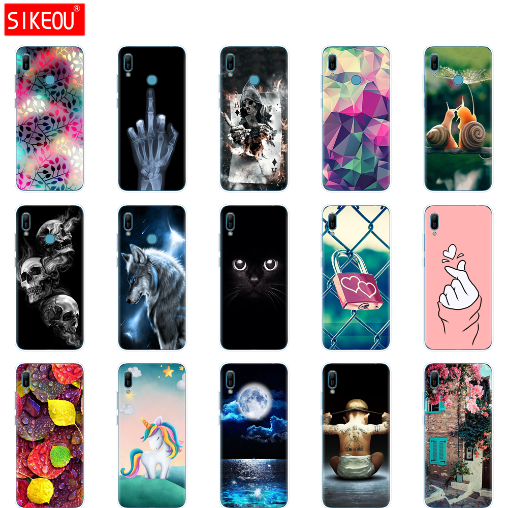 for <font><b>Huawei</b></font> <font><b>y6</b></font> <font><b>2019</b></font> <font><b>Case</b></font> <font><b>Huawei</b></font> <font><b>Y6</b></font> <font><b>2019</b></font> Silicon <font><b>Cover</b></font> Soft Phone <font><b>case</b></font> For <font><b>Huawei</b></font> <font><b>Y6</b></font> <font><b>2019</b></font> MRD-LX1 MRD-LX1F Y 6 pro Y6Prime <font><b>Case</b></font> image