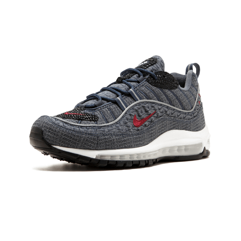 ce8dcef4eaa Original Authentic Nike Air Max 98 QS CONE Men s Comfortable Running Shoes  Sport Outdoor Sneakers Athletic Designer 924462 400-in Running Shoes from  Sports ...