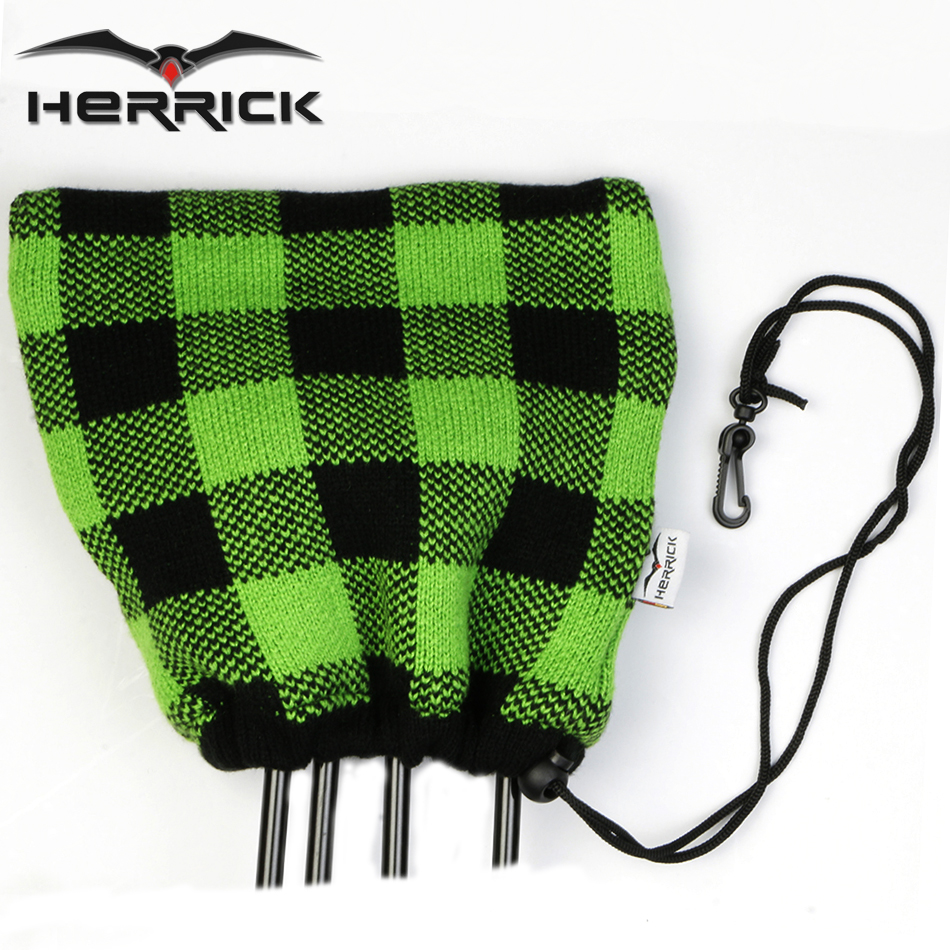 Golf Clubs Headcovers Knitting wool irons Headcovers Club protection ...