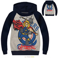 Hot Sale Boys The Avengers Thor Hoodies Sweatshirts Children's long sleeve sweater kid Terry Cotton Topwear Kids Outerwear -0657
