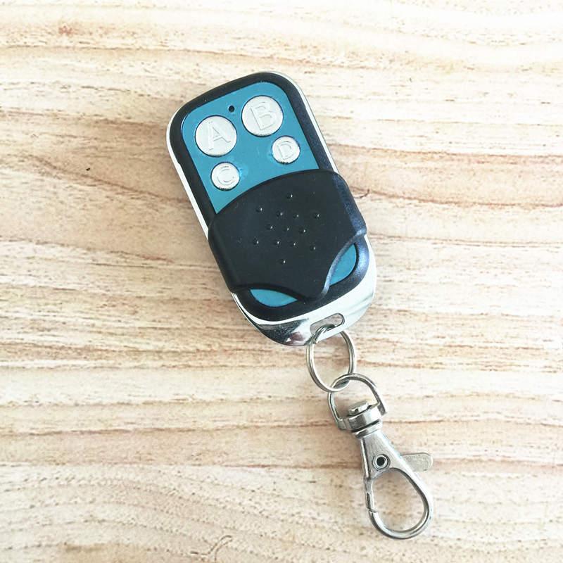 Universal 433Mhz RF Remote Control Learning Code 1527 EV1527 Gate Garage Door Smart Controller Light Switch Key Fob Transmitter universal wireless rf remote control learning copy clone code remote control duplicator key 433mhz for garage gate door