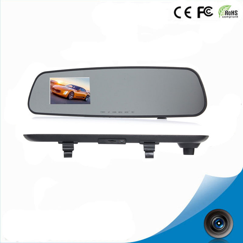 newest HD car font b camera b font dvr monitor DVRs white mirror video recorder car