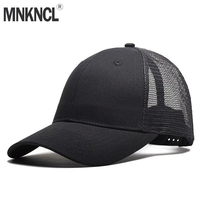 MNKNCL 2018 Vendita Calda Blank Maglia Berretti Da Baseball di Snapback  Camionista Visor Hat Hip-