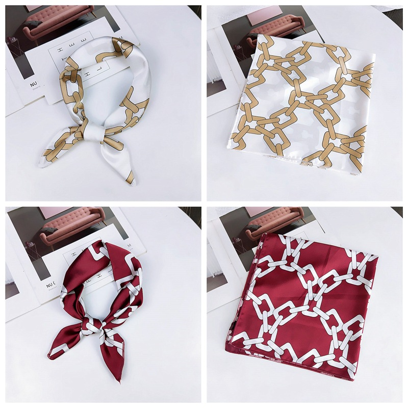 HTB1MXAxbiLrK1Rjy1zdq6ynnpXan - fashion Square Scarf Hair Tie Band Party Women Elegant Small Vintage Skinny Retro Head Neck Silk Satin Scarf, square scarves