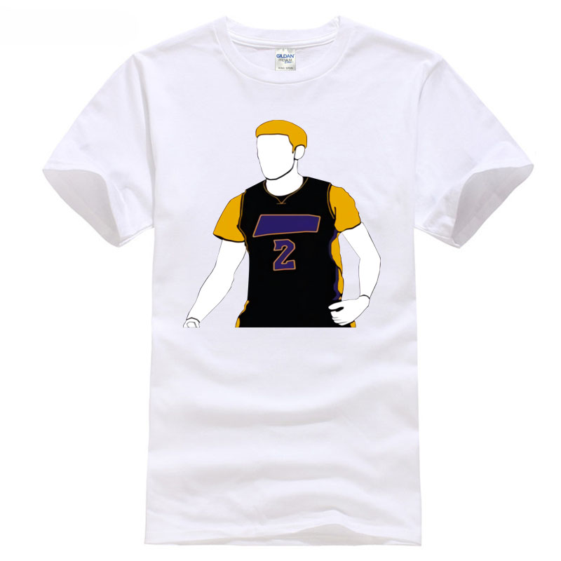 Ball playoff games Los Angeles Basketballer Player Number 2 Pick Black T Shirt ...