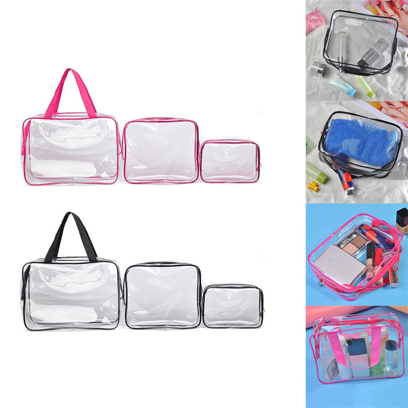1/ pcs Multicolore papeterie Laser Transparent Trousse de stockage Sac d/école Normal Green