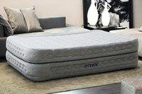 Надувной матрас роскошный встроенный в насос надувные кровать повышение двуспальная кровать воздуха увеличение толщины