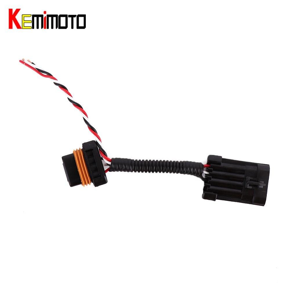 KEWMiMOTO Whip/Brake Light/License Plate Light Tail Light Power Harness for Polaris RZR 900/1000 XP 1000 XP Turbo Maverick 1000