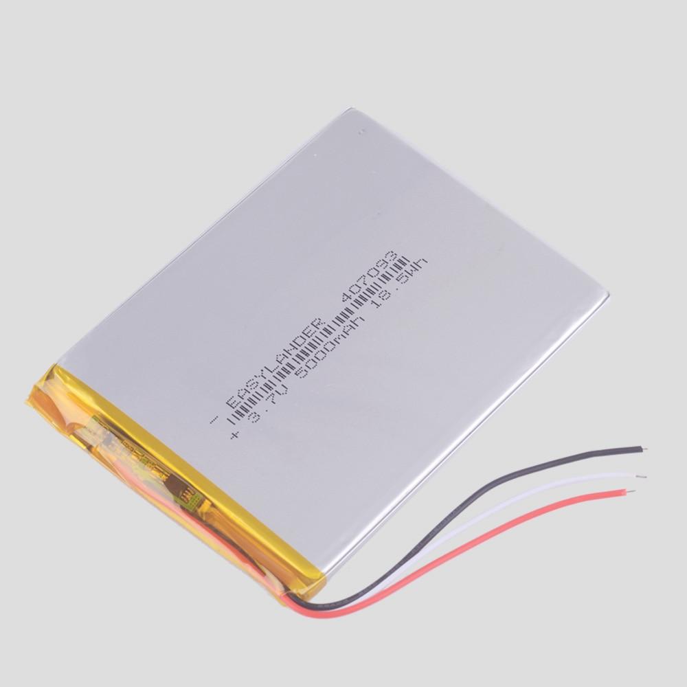 Computer & Office Tablet Batteries & Backup Power For Prestigio Wize 3327 3g Pmt3327_3g_c Pmt3327c Tablet Exchange Polymer Battery Inner 3500mah 3.7v