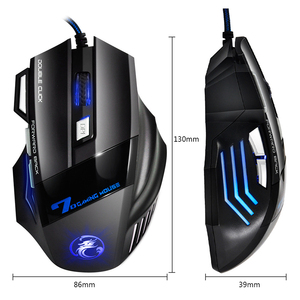 Image 5 - Professional Wired Gaming Mouse 7 Button LED Optical USB Computer mice for dota pubg mause for laptops