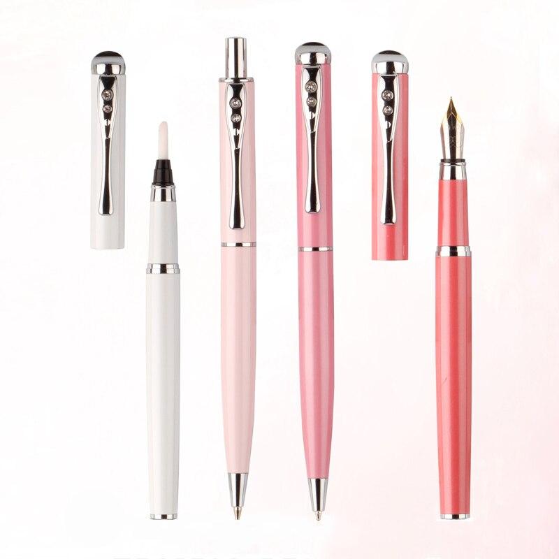 TERCEL quatre pièces stylo à bille stylo plume stylo porte-crayon stylo créatif école entreprise studio fournitures de bureau