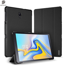 DUX DUCIS PU Leather Case for Samsung Galaxy TAB A2 10.5 Folio Smart Cover for Samsung TAB A2 10.5 inch / A 2018 10.5 T590 T595(China)