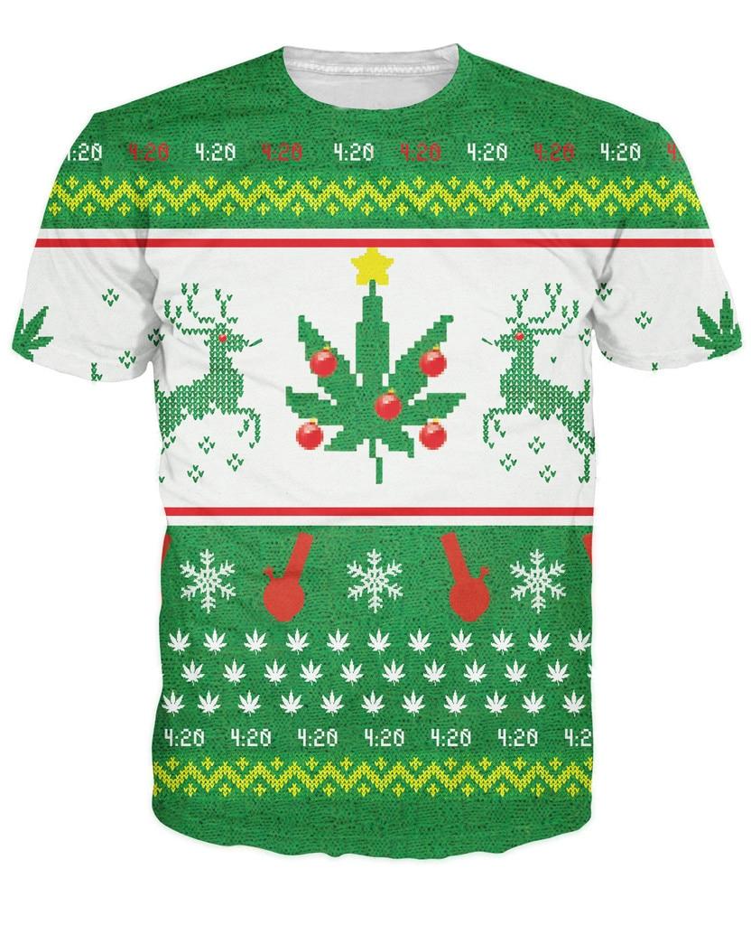 Mary Weihnachten T Shirt bongs und unkraut blätter t shirt Frauen ...
