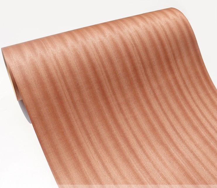 Length:2.5Meters Width:60cm Shabili Kraft Paper Composite Wood Veneer