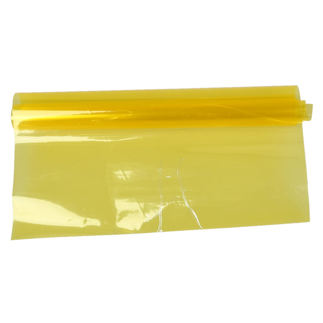 Yellow Car Tail Fog Head Light Headlight Tint Film Cover 30x60cm