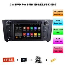 Android 7.11 COCHES reproductor de DVD PARA BMW SERIE 1 E81 E82 E83 E87 E88 2004-2012 audio del coche estéreo Multimedia GPS Quad-Core 2 + 16G