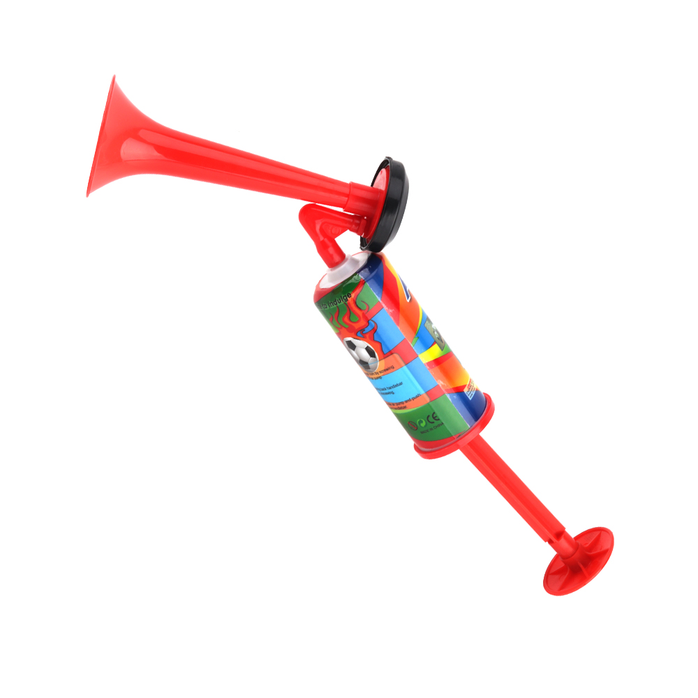 Plastic Pipe Vuvuzela Low Voice Fans Cheer Football Air Horn Light Speaker Cheerleading Fans Horns Air Horns