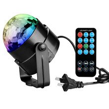 Tanbaby PARTY LIGHTS DISCO BALL 3w Led Strobe Stage light with remote controller for DJ Bar Karaoke Xmas Wedding Show Club Pub