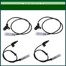 Колеса ABS Датчики скорости для BMW E36 323i 323is 328i 325i 325is спереди + сзади 4 шт. 34521163188/34521163027/ 34521163028 Бесплатная доставка