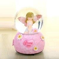 Muzik Kutusu Madera Spieluhr Note Ballerina Carrusel Musical Snow Globe Boite A Musique Caja De Musica Carousel Music Box