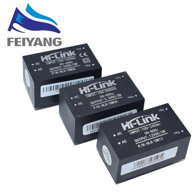 HLK 5M05 HLK 5M03 HLK 5M12 5W AC DC 220V to 12V/5V/3.3V Buck Step Down Power Supply Module Converter Intelligent