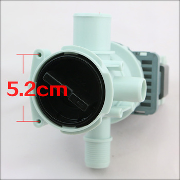 1pcs Original drain pump for samsung washing machine parts WF-C863/C963/R1053/R853  whole package drainage pump original washer tractor xpq 6a of haier whirlpool samsung lg hand rubbing washing machine retractor brand new drainage motor