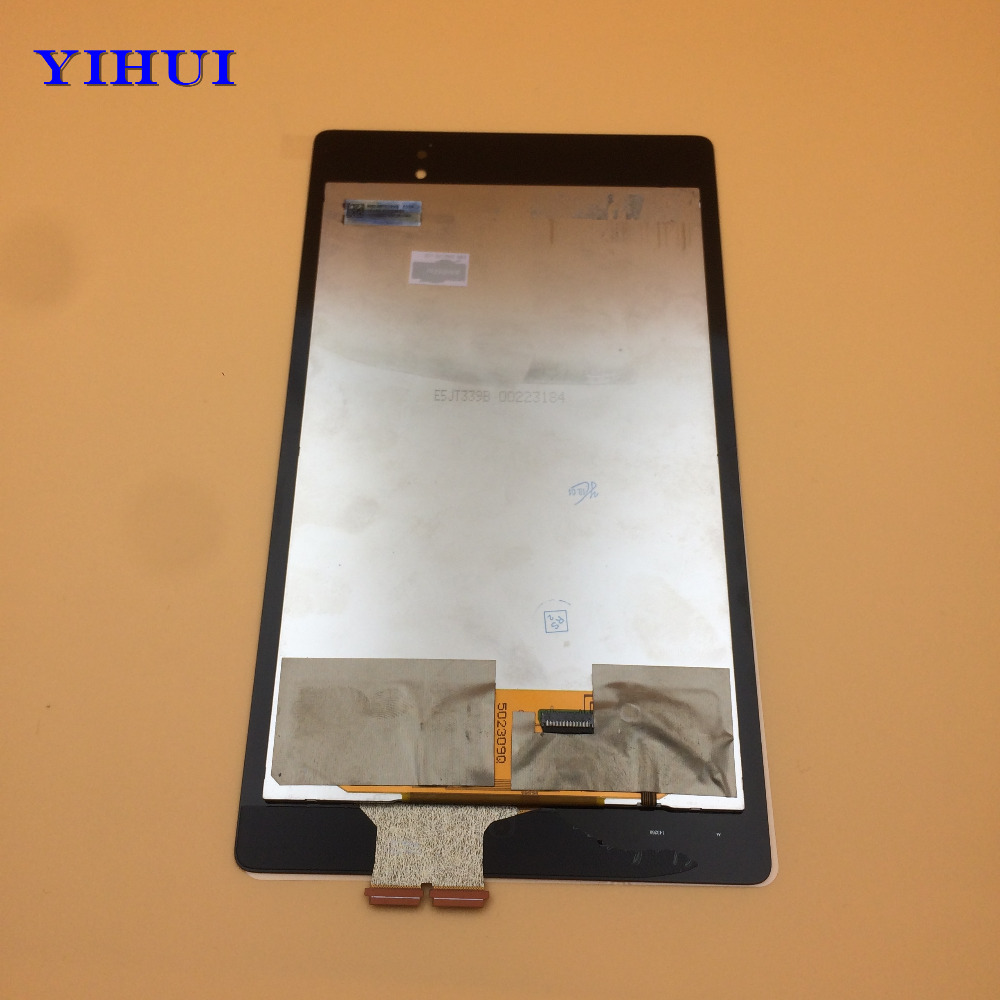 YIHUI For Asus Google Nexus 7 2nd 2013 ME571 ME571K ME571KL LCD Display+Touch Screen Digitizer Assembly Replacement Parts lcd display touch screen digitizer with frame for asus google nexus 7 ii 2nd 2013 me571kl k009 nexus7c lte 4g 3g lcd assembly