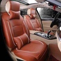 New fashion PU leather car seat cover For bmw e60 f11 kia rio3 4 honda accord 2004 2007 suzuki jimny car styling car accessories