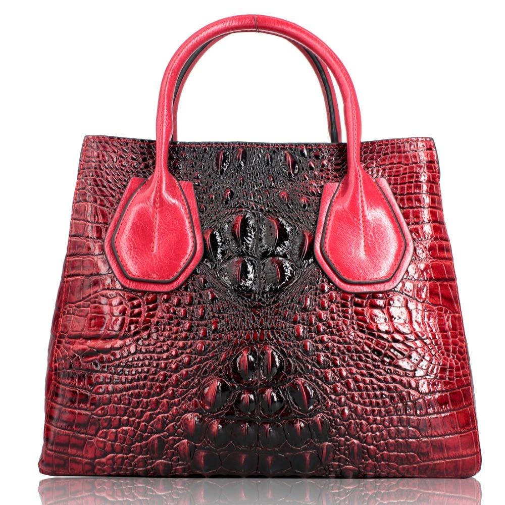 Italian leather Wholesale Genuine Leather Handbag For Women Shoulder Crossbody Tote Bag famous brand luxury bags