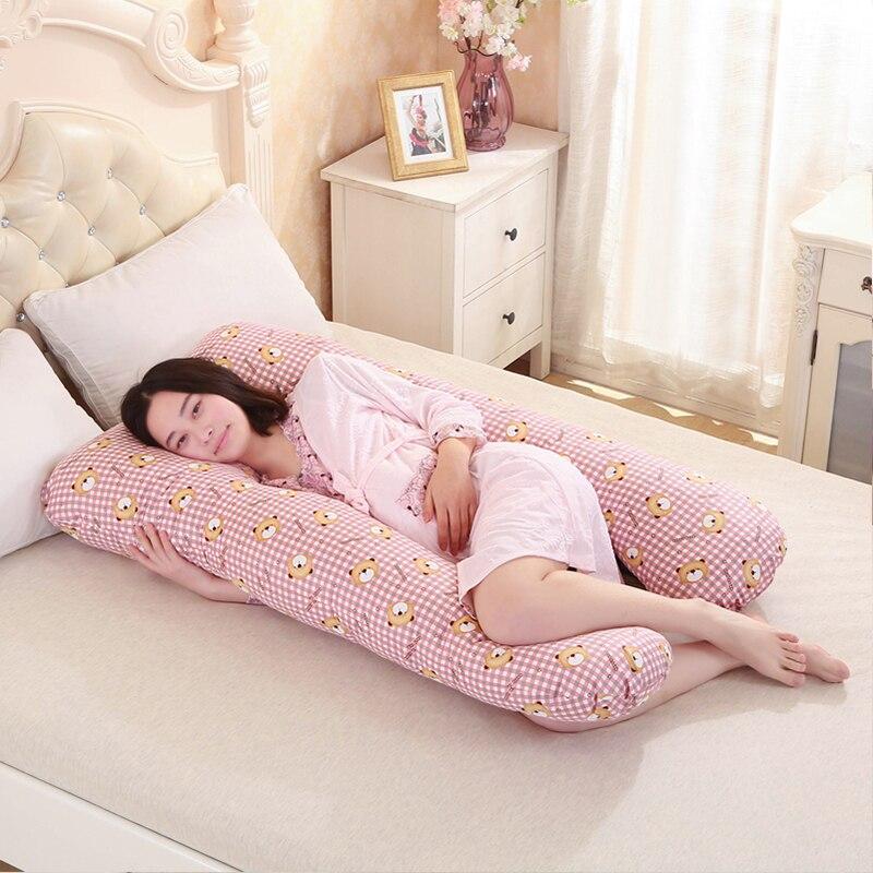 Pregnancy Comfortable U Shape Maternity Pillow 4