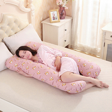 130*70CM pregnancy Comfortable U shape Maternity pillows Body cartoon pregnancy pillow Women pregnant Side Sleepers cushion