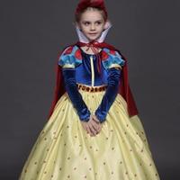 High-end çocuk giyim kız elbise elbise çocuk 's kar-beyaz etek gösterisi sahne hizmet