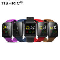 TISHRIC Q9 Smartwatch Astuto Della Vigilanza di Sport Degli Uomini/Donne/Bambini IP67 Impermeabile Smartband Attività Fitness Tracker IOS Android
