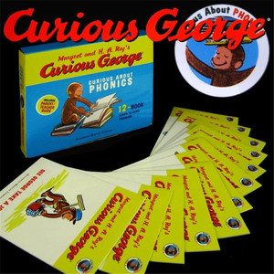 Image 2 - 12ピース/セットおさるのジョージおさるギフトナチュラルスペルオリジナル英語図示子供の絵本