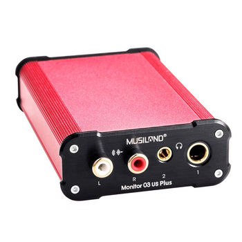 MUSILAND Monitor 03USPLUS external sound card USB sound card HIFI Monitor 03US PLUS Звуковая карта