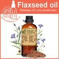 100% óleo de base vegetal puro óleos Essenciais Reino cuidados com a pele óleo de Linhaça óleo de Linhaça 100 ml Anti-inflamatório Artesanal sabão