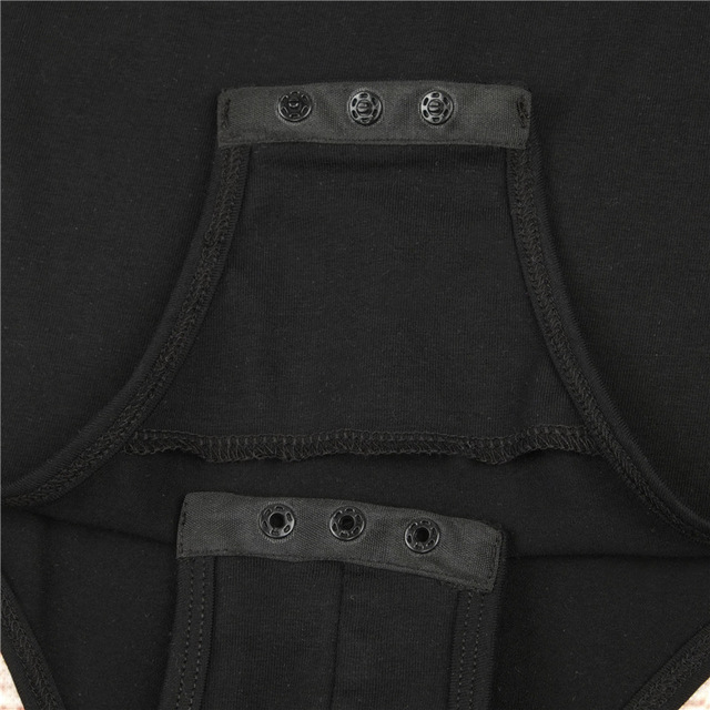 Backless long sleeve autumn bodysuit women 2018 bandage fitness slim black jumpsuits bodysuits sexy hot bodycon overalls clothes 3