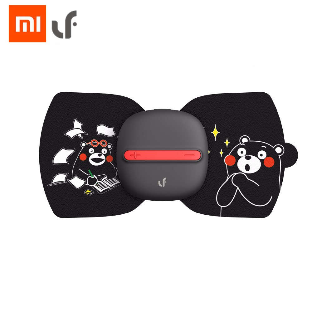 Original Xiaomi Mijia Protable LF Magic Massager Aufkleber ZEHN Puls Massage Körper Entspannen Muskeln Elektrische Simulator 120 cm Kabel