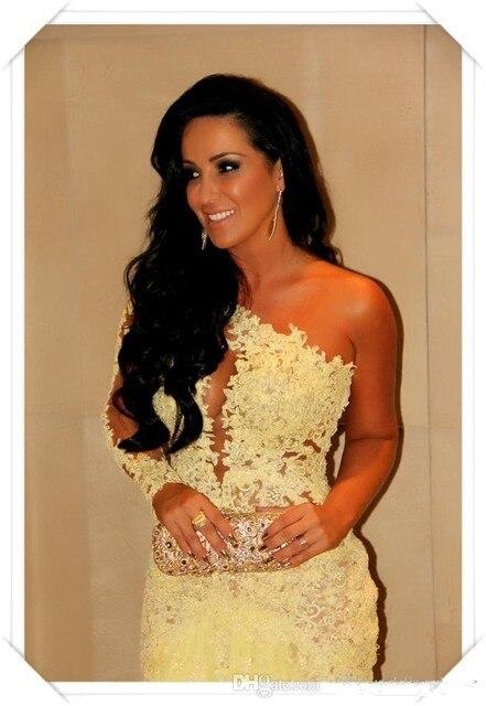 Hair Do Prom Dresses One Sleeve