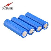 4pcs/lot Wama 18650 Real 1800mAh Li-ion 3.7V Rechargeable Electronic Cigarette Battery Power Bank Flashlight Laptop Toys