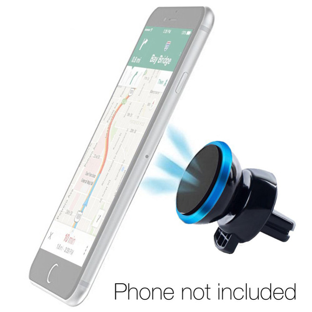 836106e9de2d US $5.19  Magnetic Air Vent Car Mount Holder Cradle 360 Degrees Rotation  Universal Smart Phone Holder for iPhone 6s Plus 6s 5s Samsung-in Universal  ...