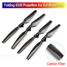 Blueskysea Spare Parts 4pcs 8330 Carbon Fiber CW CCW Propellers For DJI Mavic Pro Drone Free shipping align trex 550 90mm carbon fiber tail blade hq0900ctrex 550 spare parts free shipping with tracking