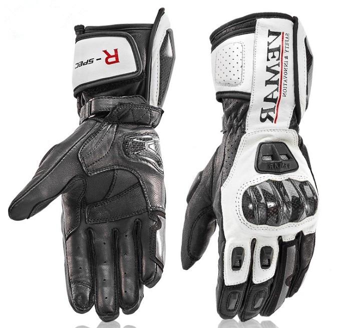 Gants longs moto rcycle gants de course en cuir pour hommes gants moto GP gants moto rbike 4 couleurs taille M L XL XXL