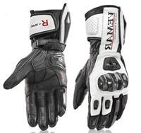 Long Motorcycle Gloves Men's Leather Protection Racing Gloves MOTO GP Gloves motorbike glove 4 colors size M L XL XXL