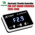 Автомобильный электронный контроллер дроссельной заслонки гоночный ускоритель мощный усилитель для JEEP CHEROKEE KJ 2005 2006 Тюнинг Запчасти аксесс...
